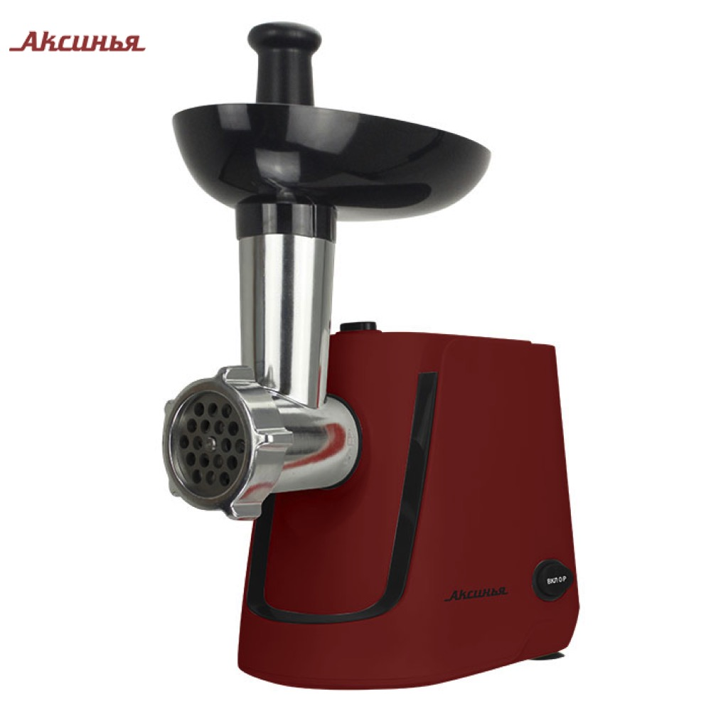 Meat Grinders AKSINYA 0R-00004189 home kitchen appliances electric chopper KC-2000 bear portable electric meat grinders 2l 300w 2 gears glass mini blenders 4 blades copper engine meat cutter kitchen appliances