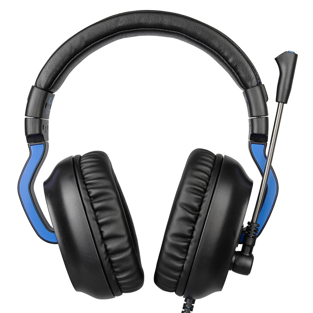 Sades R4 Gaming Headset 3.5Mm Over-Ear Headphone Microphone For/Pc/Ps4/Xbox One Noise Canceling Headphone