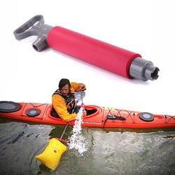 1 шт. 400 мл пластик гребная лодка ручной Трюмный Воды Сосать каноэ насос поршневой Каякинг дно слива воды всасывания каяк руководство Pump0.2