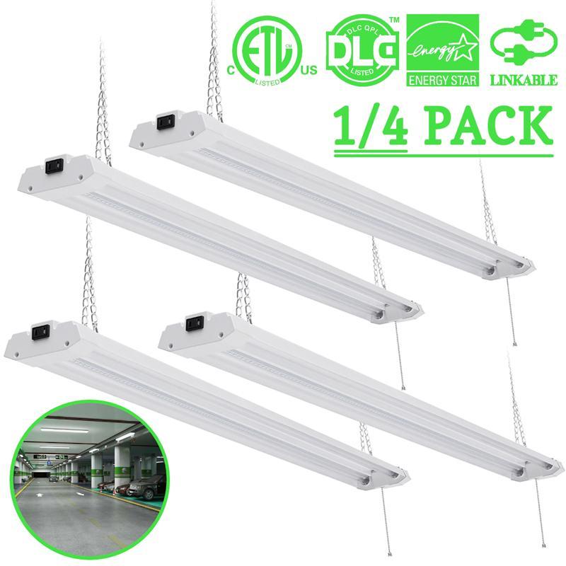 1 PC/4 pièces 40/72 W AC 120 V tube LED intégré 1213mm 4ft lampe fluorescente CRI SMD 2835 puce Fe + PC pour magasin mur tube