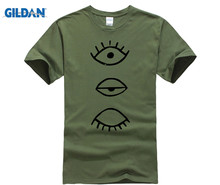 GILDAN PunPun T Shirt  Men 100% Cotton Slim Fit Short Sleeve T-Shirts Printed Cool O Neck Shirts