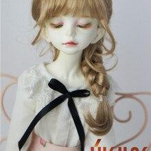 JD413 1/4 1/3 красивый принцесса коса BJD синтетический мохер парики Размер 7-8 дюймов 8-9 дюймов 9-10 дюймов волосы стиль Мода Кукла аксессуары
