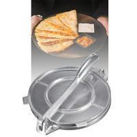 20cm Tortilla Maker Press Pan Heavy Duty Restaurant Commercial Aluminium Tortilla Pie Maker Press Tool Home Appliance Part