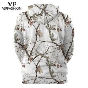 Image 2 - VIP FASHION Camouflage Hoodie Sweatshirt Men 3D Printed hunting  Plum Flower Tree Hoodies Unisex Hiphop Streetwear Sweetshirts