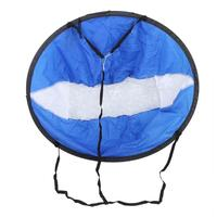 43in Kayak Canoe Downwind Boat Inflatable Wind Paddle Clear Window Popup Board Wind Sail 108 x 108cm/ 42.52 x 42.52