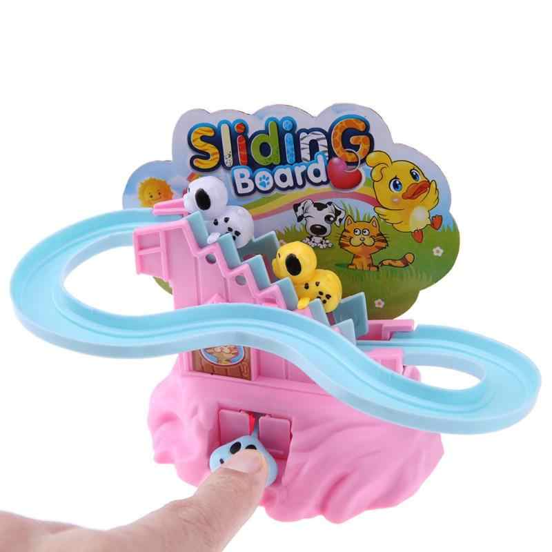 Stairs Slide Track Puzzle Hand Toy Parent-Child Interactive Game Kids Montessori Educational Toys For Children Gifts