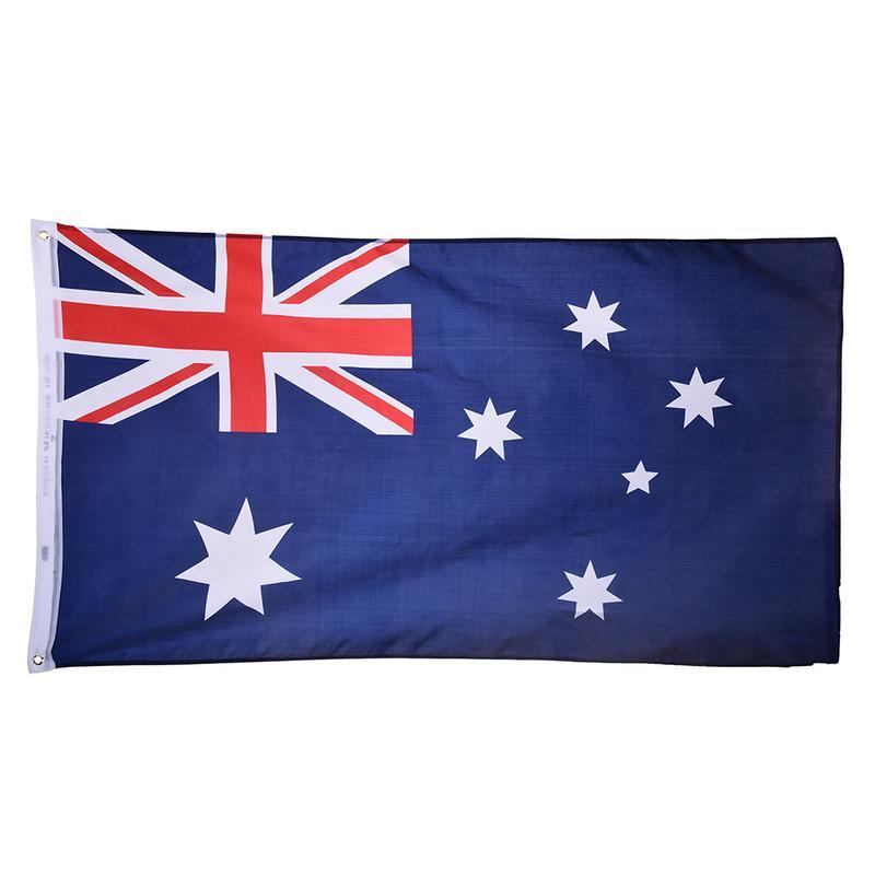 Australia Flag 90*150cm Polyester Flag Banner for Festival Home Decoration