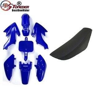 Image 5 - STONEDER Plastic Fairing Body Kits & Tall Foam Seat For Honda CRF50 XR50 Pit Dirt Motor Trail 50cc 160cc Thumpstar Lifan YX DHZ