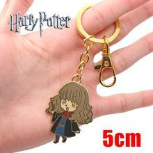 af5c4f906e18 OHCOMICS HP Harri Potter Hogwarts Gryffindor Hermione Granger llavero  collar colgantes de Metal clave anillos colección regalo