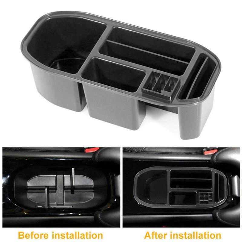 For Honda Vezel HR-V HRV Car Center Console Box Organizer Food Tray Drink Holder