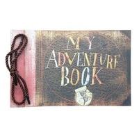 Retro Photo Album Baby Scrapbook Our My Adventure Book Album Handmade DIY Photo Foto Scrapbook 40 Page Kraft Paper Sheets Card X