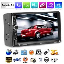 SWM 8802 Versione Aggiornata 2din Lettore 7in Android 7.1 Car Video MP5 GPS FM Bluetooth Vista Posteriore Auto Radio Player con la Macchina Fotografica