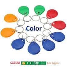 Copier reprogrammable T5577 EM4305 write read 125KHz LF Keyfobs card Duplicate RFID Tag Copy card Proximity door clone Key