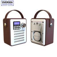 Multifunctional Retro Radio DAB DAB+ Digital FM Portable WiFi Internet Radio Alarm Clock Wooden Box Speaker Support Bluetooth TF