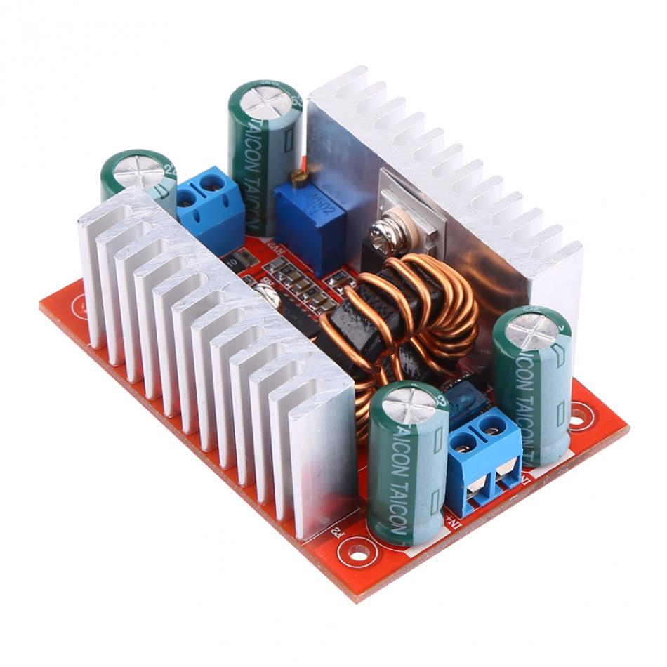 Module de suralimentation puissance actuelle 400W Module de DC-DC convertisseur de suralimentation DC8.5V-50V à DC10V-60V Module d'alimentation LED pilote fonctionnel
