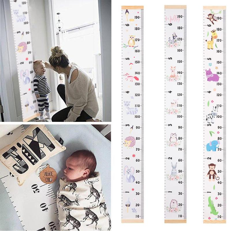 Nordic Style Baby Child Kids Decorative Growth Charts Height Ruler Size Baby Growth Memory Gifts For Baby Photography Accessory