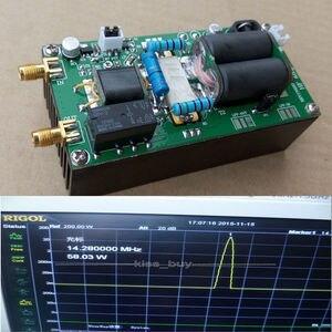 DYKB MINIPA Собранный 100 Вт SSB Линейный Усилитель Мощности HF 1,8-54 МГц для YAESU FT-817 KX3 heastink CW AM FM HAM радио