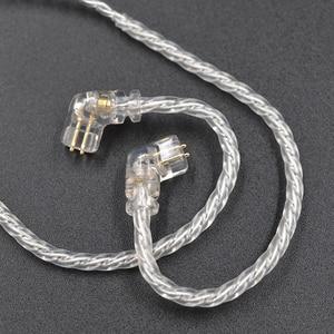 Image 4 - CCA KZ ZSN Oortelefoon Silvers Kabel Zsn Pro Plated Upgrade Kabel 2pin vergulde Pin 0.75mm voor KZ ZSN Pro zs10 pro KB06 KB10