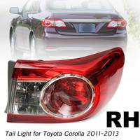 Left Right side Car Right Side Red Rear Tail Light Brake Lamp for Toyota Corolla 2011 2012 2013 TO2804111 Car light styling
