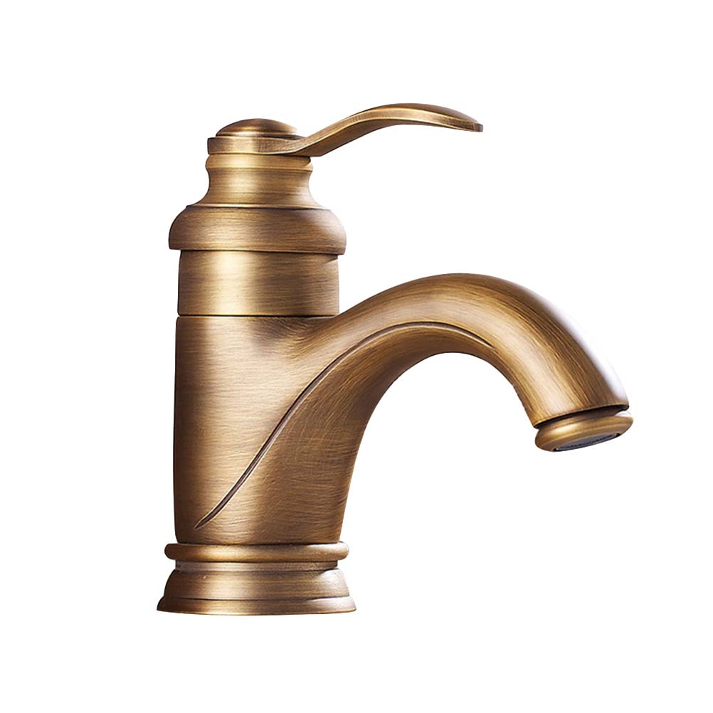 1 Pc Antique Basin Hot And Cold Water Copper European Teapot Shaped Sink Faucet Brass Faucet Mixer Tap For Washroom To Have A Unique National Style
