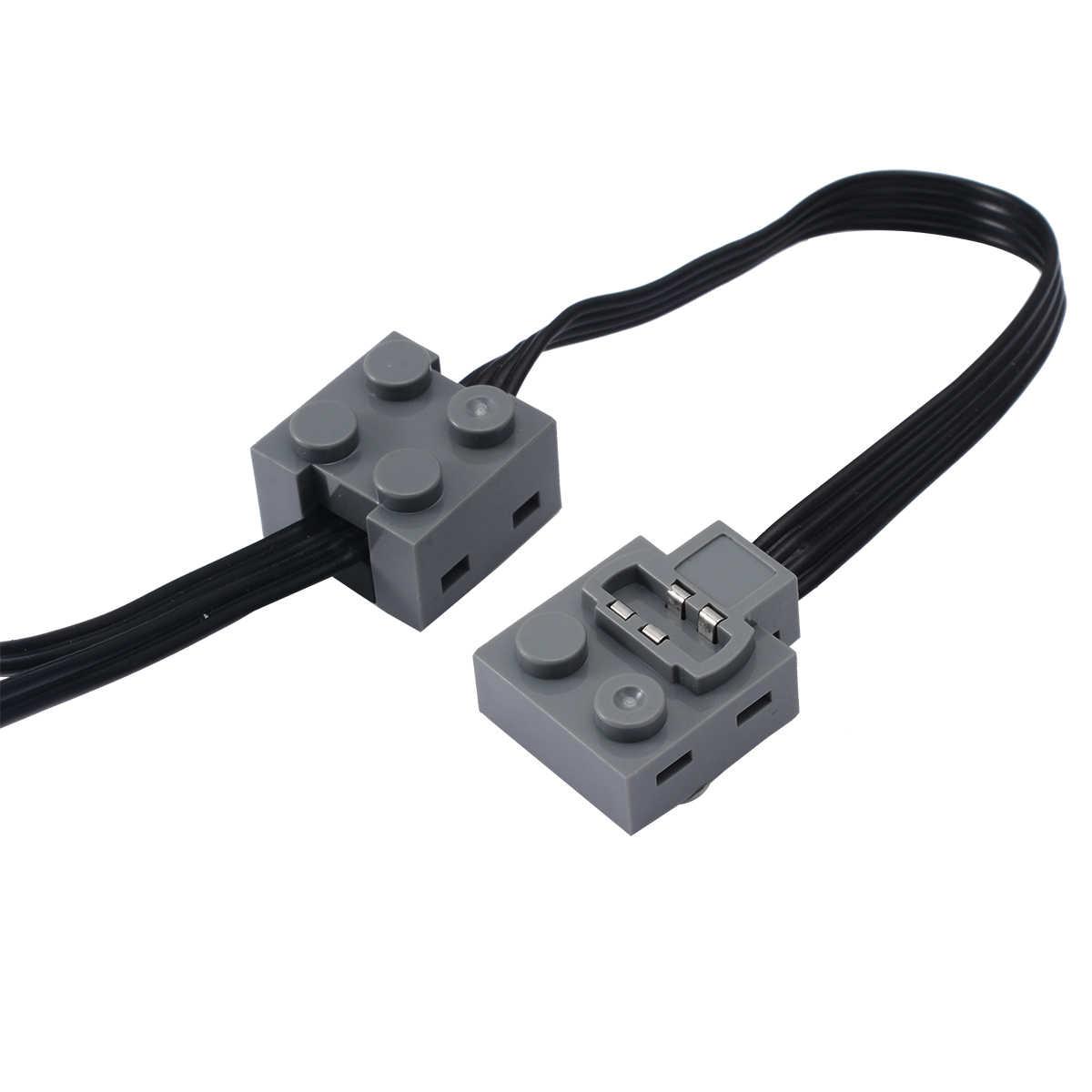 1 pc 37 cm Função de Potência Técnica 8870 DIODO EMISSOR de Luz Cabo de Linha De Ligação Para Lego Do Veículo Do Comboio de Alta Qualidade