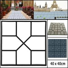DIY Plastic Path Maker Mold Manually Paving Cement Brick Sto