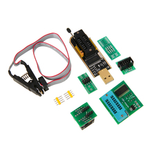 цена на 1 Set High Quality SOIC8 Test Clip + For EEPROM BIOS USB Programmer CH341A + 1.8V & SOIC8 Adapter Accessories