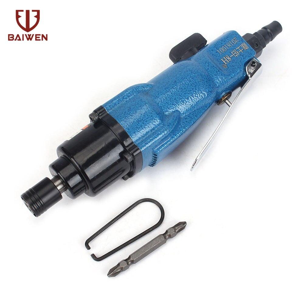 "1/4"" Adjustable Air Screwdriver Reversible Industrial Pneumatic Screw Driver|Pneumatic Tools| |  - title="