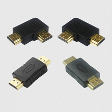 HDMI to Male Connector Gold-plated 4K Adapter Converter Extender Coupler for HDTV Laptop Projector