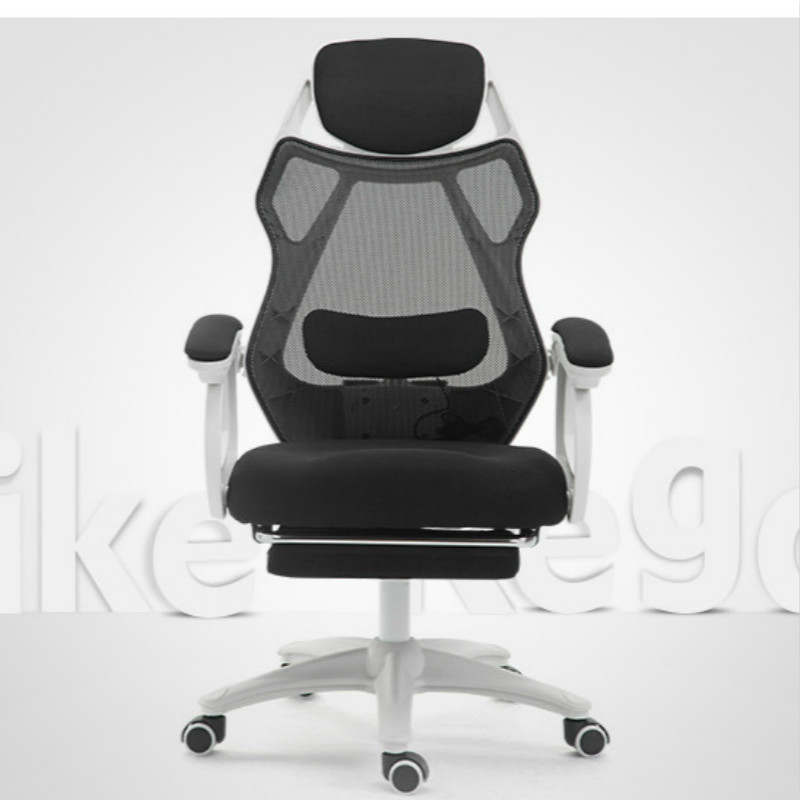 Quality Computer Chair Lumbar Massage Boss Executive Office Chair Mesh Lift Swivel with Retractable Footrest Office Chairs in Office Chairs from Furniture
