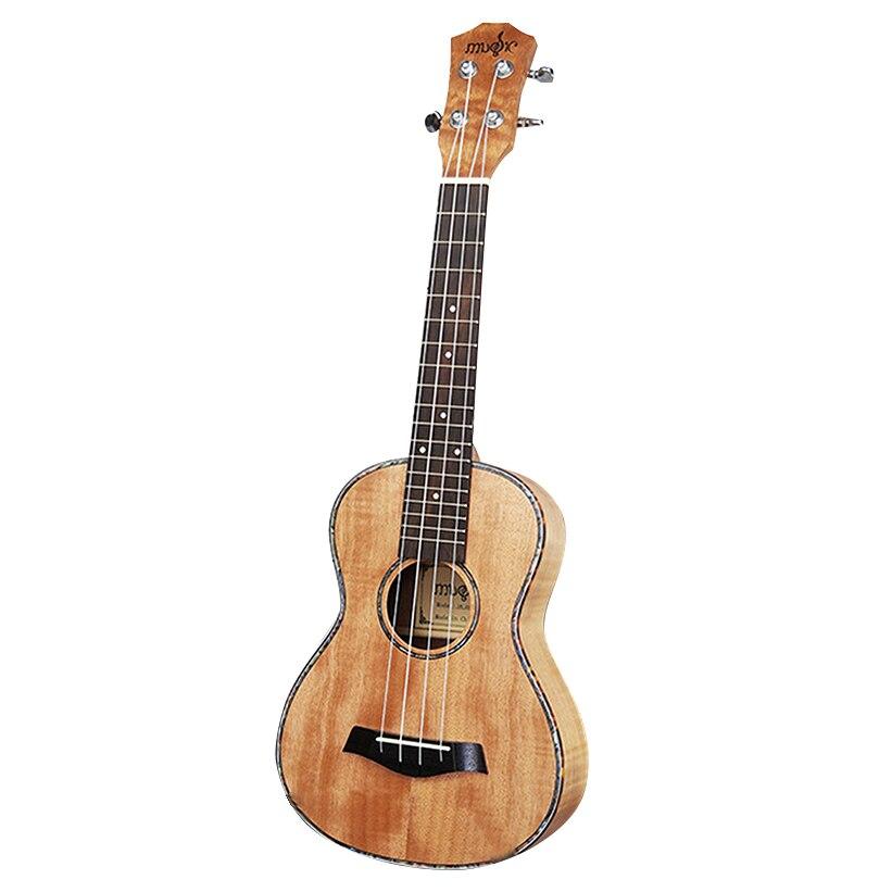 HOT-23 pouces ukulélé tigre rayures okoumé hawaïen guitare palissandre Fretboard 4 cordes Concert Ukelele