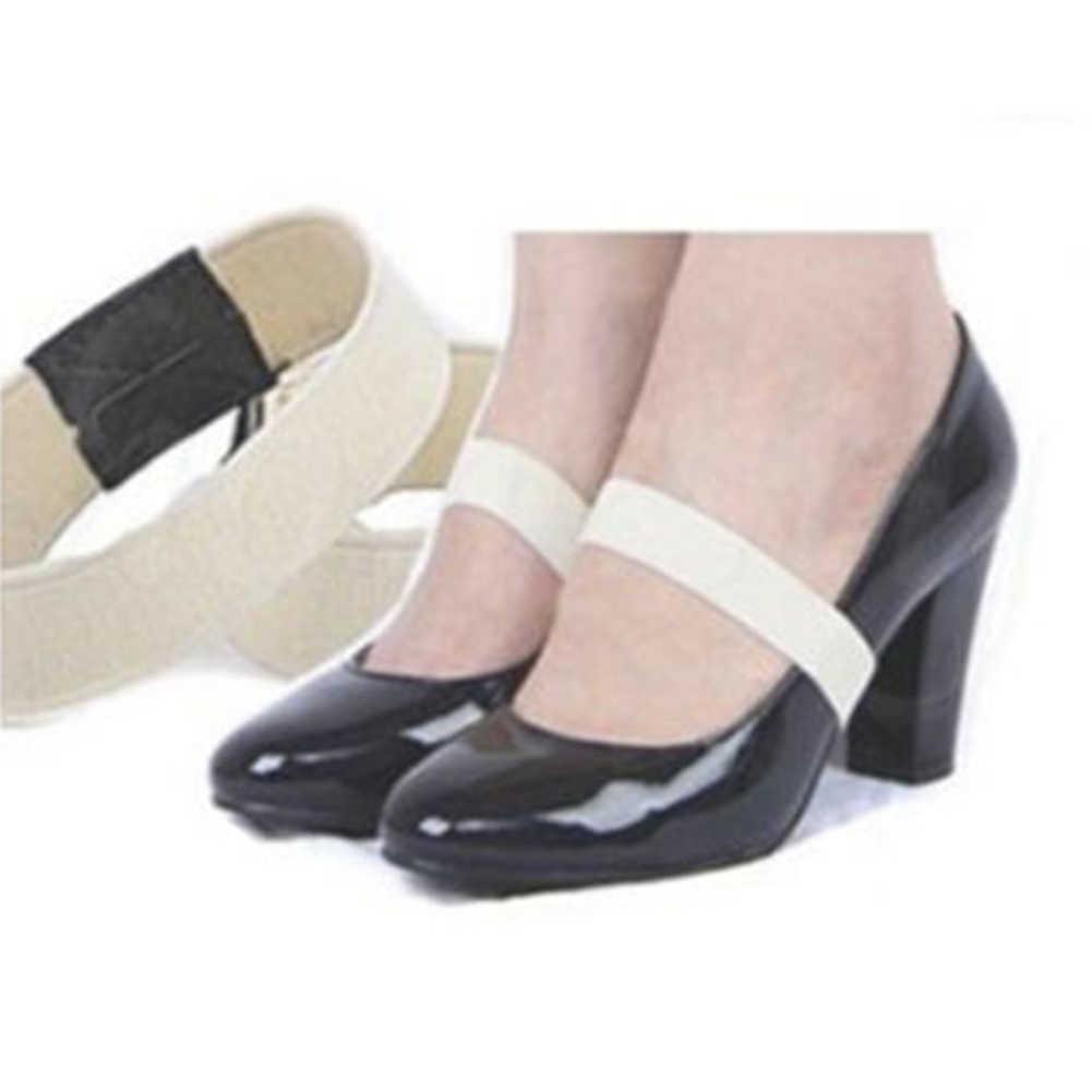 1 para kolorowe elastyczna opaska pasek na buty jednolity kolor sznurowadło na buty na wysokim obcasie 2*20 cm