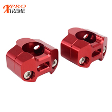 Motorcycle 1 1/8 CNC Aluminum Handlebar Risers 28mm Adjustable Fat Bar Clamps Universal For KTM EXC YZF CRF KLX Dirt Pit Bike