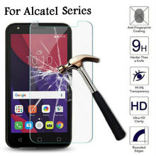 Tempered Glass For Alcatel 3 3L 2019 A30 U5 C5 C7 Screen Protector Film Cover for Alcatel Idol 3 4 5S Pop3 1X 3X 3C Phone Case(China)