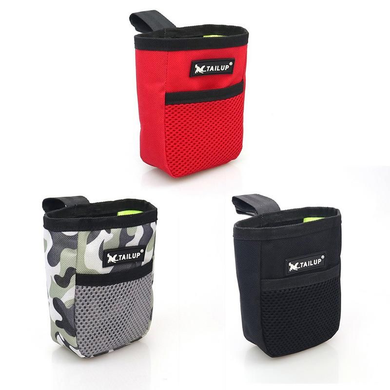 Mini Outdoor Pet Food Storage Bag Portable Training Dog Snack Bags Cat Supplies Strong Wear Resistance Comfortable Home