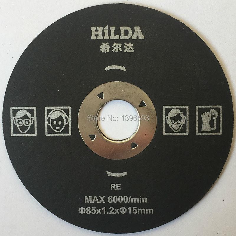 5 pezzi / lotto, disco da taglio in resina 85x15mm per acciaio, accessori per multi sega, mini dischi circolari. Disco da taglio in metallo. Nave libera.