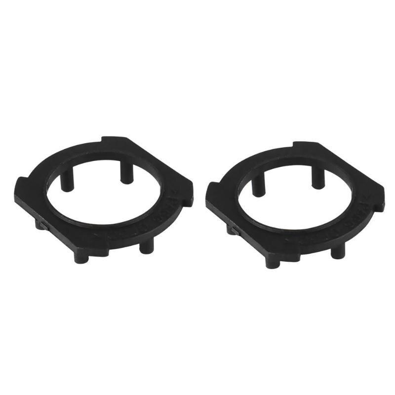 Base Vodool 2pcs Auto Car H7 Led Headlight Bulb Adapter Base Holder For Honda Crv Opel Headlamp Socket Retainer For Mazda 3/5/6/m3/m5 Lustrous