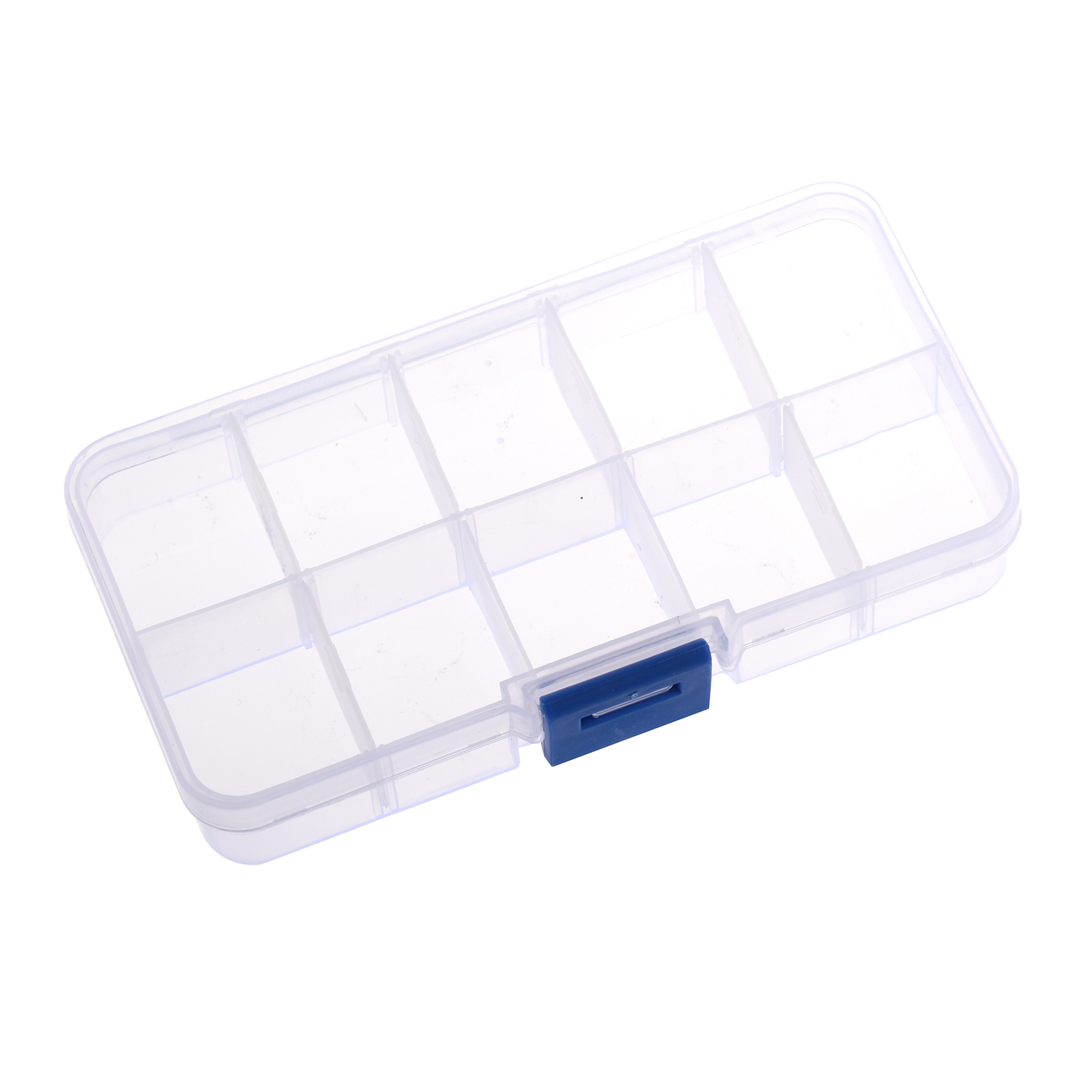 Plastic Case Storage-Box Display-Organizer Bead-Rings Jewelry Practical 10-Compartment