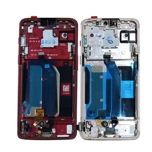 """Image 3 - 6,28 """"Оригинальный супер Amoled M & Sen для OnePlus 6 Oneplus 6 One Plus 6 ЖК дисплей экран + сенсорная панель дигитайзер Рамка Замена"""