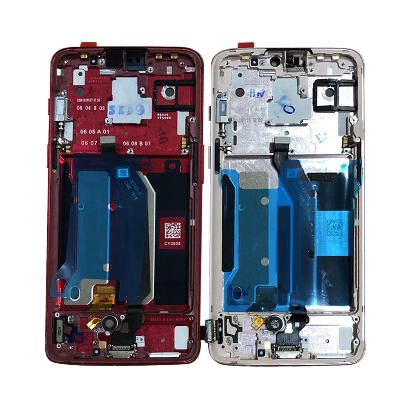 "Image 3 - Original M&Sen For 6.28"" OnePlus 6 Oneplus 6 One Plus 6 Super Amoled LCD Display Screen+Touch Panel Digitizer Frame Replacement-in Mobile Phone LCD Screens from Cellphones & Telecommunications"