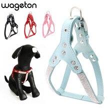 944d2d590037 Wageton de acolchado arnés de perro Chaleco de cuello accesorios para  mascotas para cachorros pequeño mediano