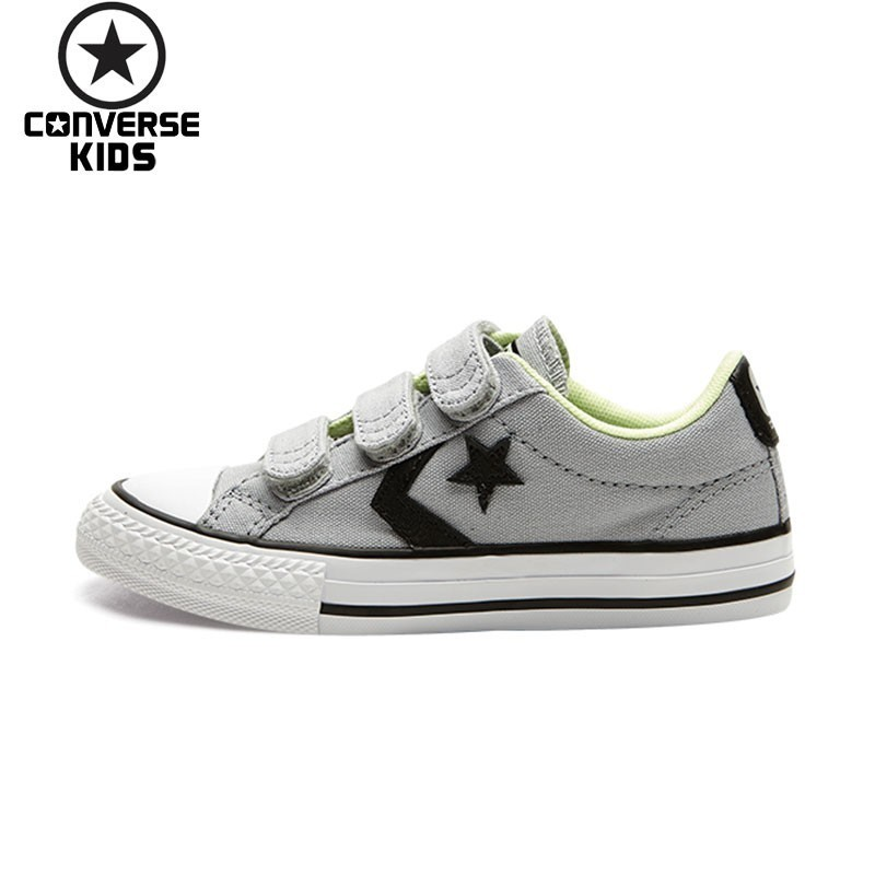 CONVERSE Kids Shoes Star Arrows Magic Subsidies Outdoor Sneakers For Boys  And Girls Breathable Canvas Shoe 358362C edd55a2c8c75