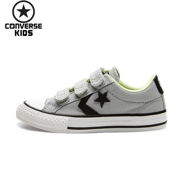 a1eabd6cc61f CONVERSE Kids Shoes Star Arrows Magic Subsidies Outdoor Sneakers For Boys  And Girls Breathable Canvas Shoe 358362C