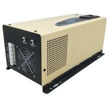 6000 Вт Инвертор Чистая синусоида Инвертор с зарядным устройством низкочастотный инвертор, CE& SGS& RoHS& IP30 утвержден