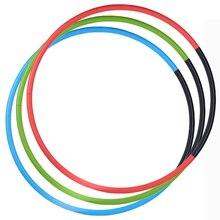 100 см Съемный Вес потери жестких трубков мышцы Фитнес кольцо для гимнастики оборудование пояс для похудения живота упражнения обручи спортивные петли
