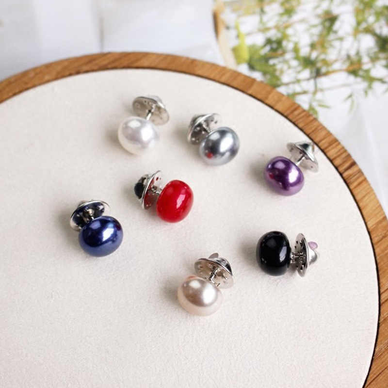 Fashion Popular Brooch New Clothing Chic Color Pearl Brooch Female Headscarf Needle Quality Lapel Pin Women'S Fashion Jewelry