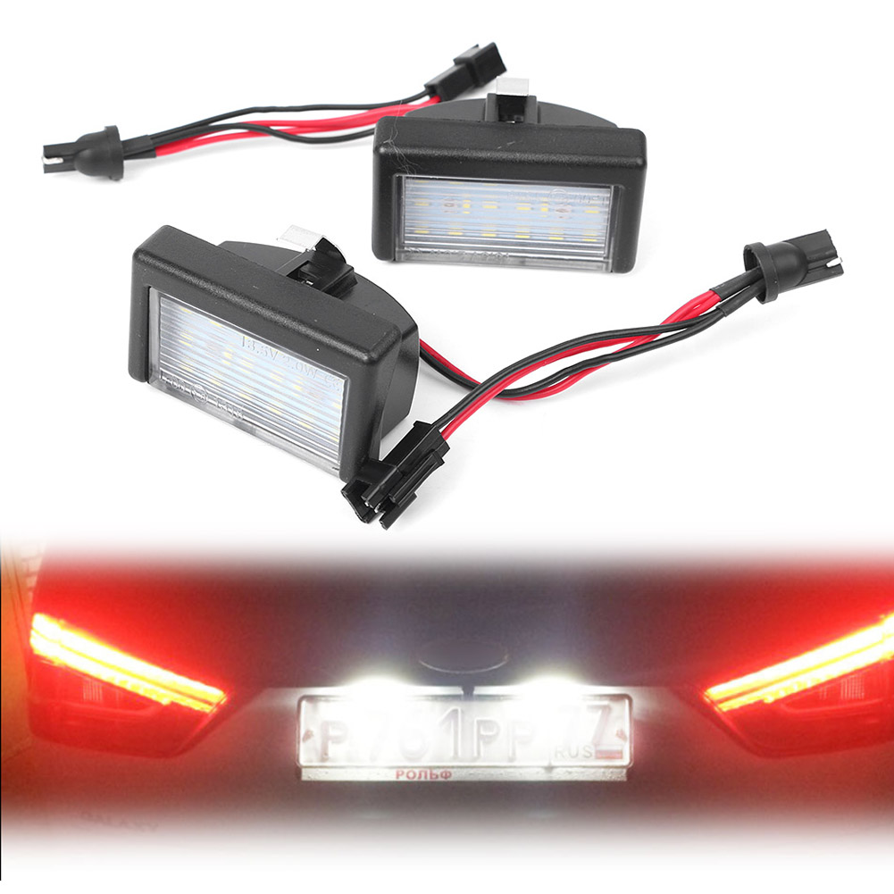 Car LED license Number Plate Light Lamp Lighting Indicators Accessories CE OEM#: A4528200056 For Mercedes Benz ML W164 X164X