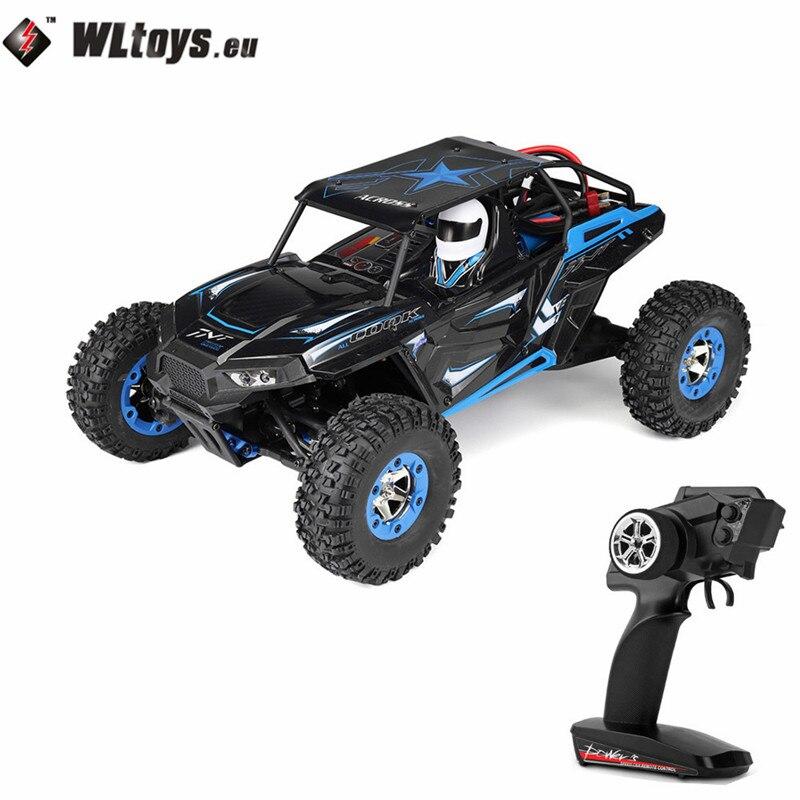WLtoys 12428B 2,4 ГГц 1/12 50 км/ч/ч 4WD внедорожник электрическая игрушка радио управляемый автомобиль RC высокая скорость гоночный автомобиль