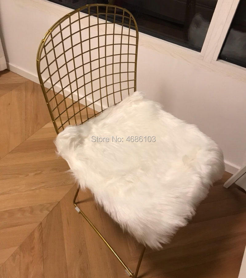 2019 New American Country Gold Iron dining nordic furniture chairs dining room modern living room chair bedroom home furniture