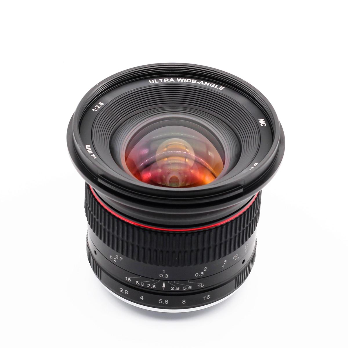 12mm F/2.8 Wide Angle Manual MFT Lens For Panasonic Olympus M43 Micro 4/3 E-P5 E-M5 E-M10 Mark II III GX9 GX85 G90 G9 12 Mm F2.8